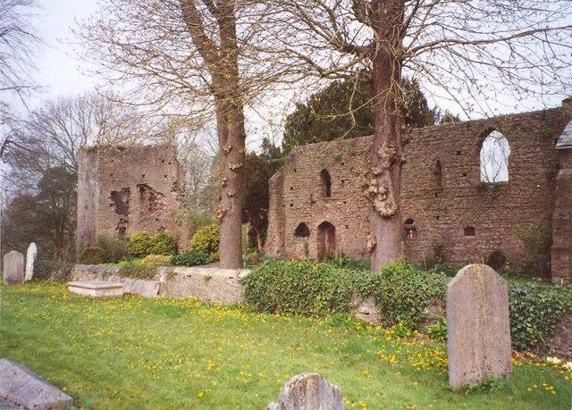 Tiverton Castle. Image by Humphrey Bolton