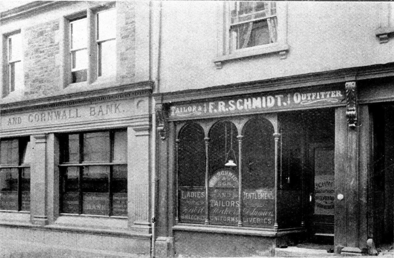 Schmidt's tailors (image courtesy of Peter Christie)