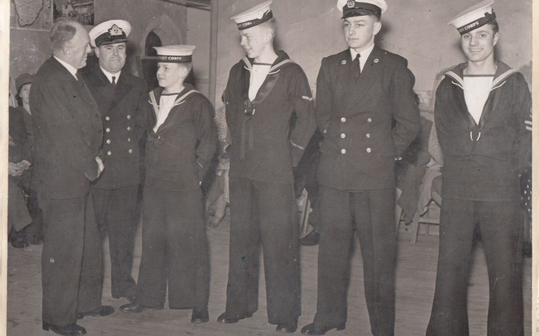 American soldiers in Tiverton