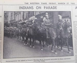 Indian Soldiers in Exeter