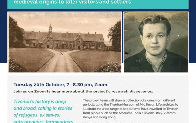 Digital Event 20.10.20 – Listening to History: Tiverton
