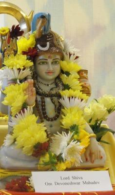 Hindu Deity arrives at RD&E Hospital Chaplaincy Centre