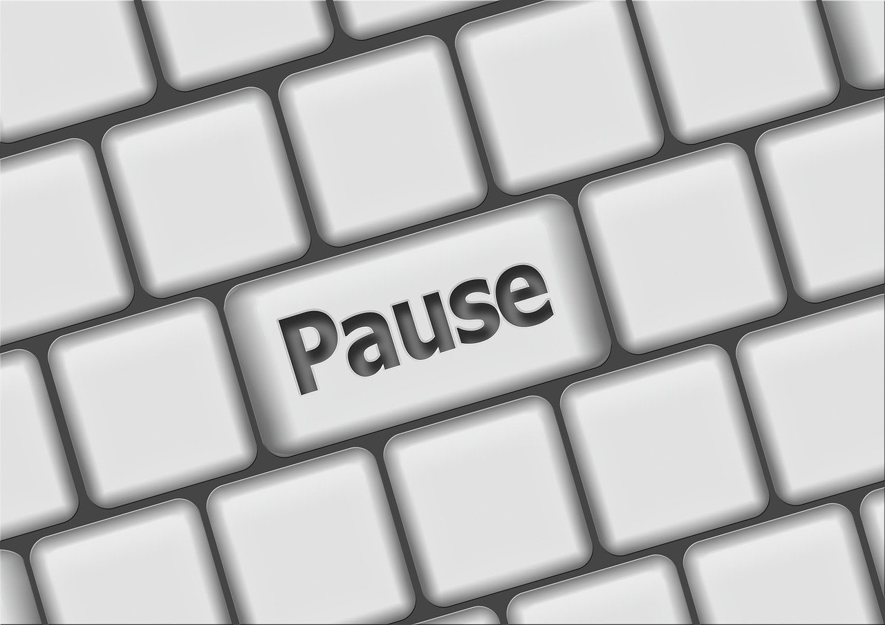 Pause button on keyboard