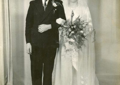 The Maglovs' wedding. Image courtesy of the Maglov Family Archive.