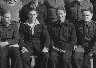 Men at the Prisoner of War Camp. Image courtesy of Tiverton Museum of Mid Devon Life.