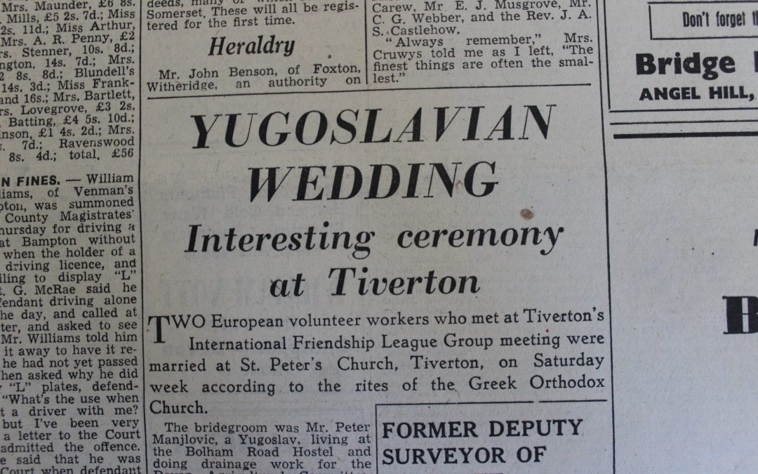 A Yugoslavian Wedding in Tiverton