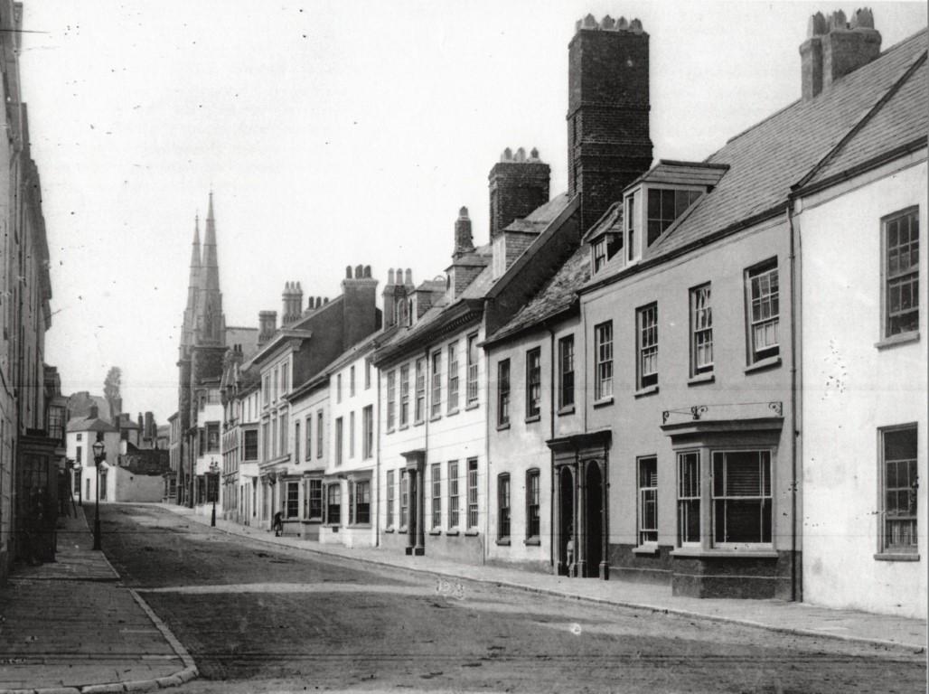 Historic view of Bridgeland Street (image courtesy of Peter Christie)