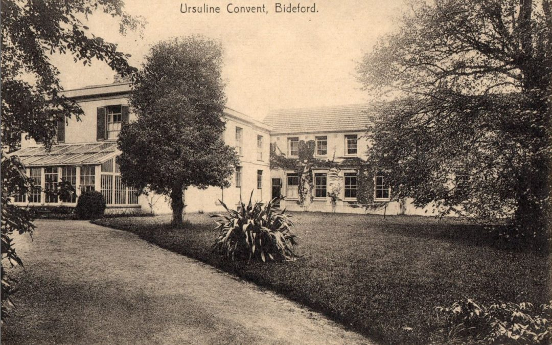 French nuns in Ursuline Convent, Northdown Hall