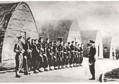 Polish naval camp, Okehampton, c. 1947. Image Courtesy of the Museum of Dartmoor Life.