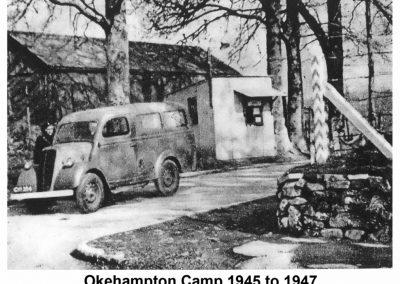 Okehampton Camp. Image courtesy of the Museum of Dartmoor Life.