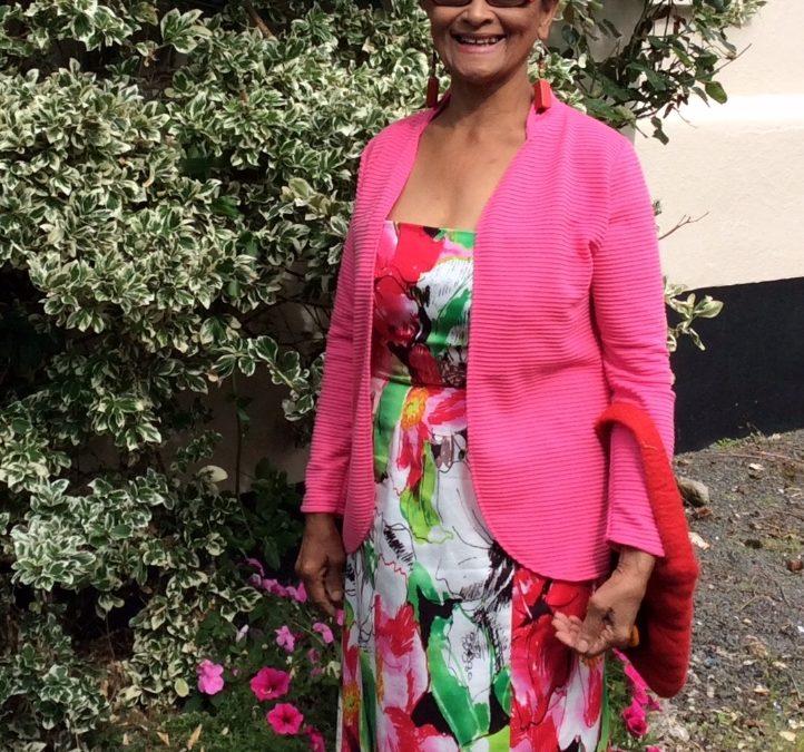 Carol Williamson, born in Trinidad
