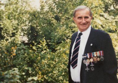 Peter Skrzypczak as an older man