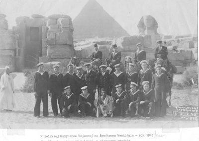 The Polish Navy at Great Pyramid