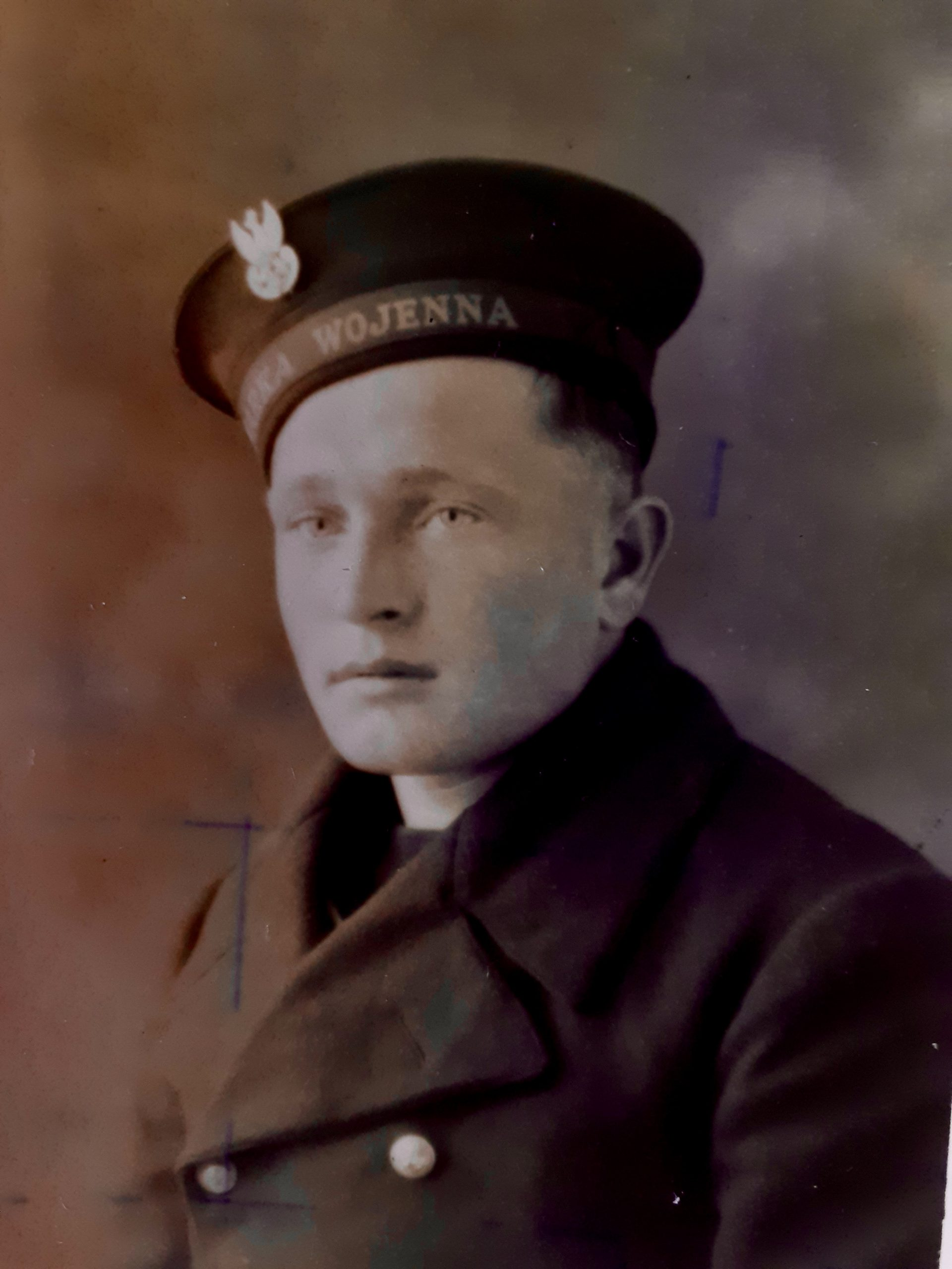 Antoni Zielonka in uniform